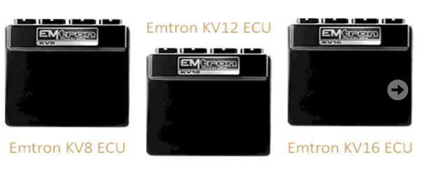 Emtron Motorsport ECU range