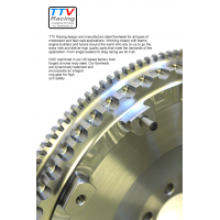 TTV Racing Steel Flywheels and Clutches