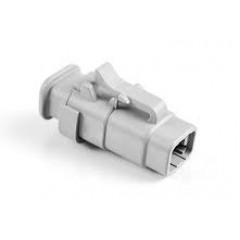 DTM06-4S-SR01 4-Way Plug, Female with Strain Relief